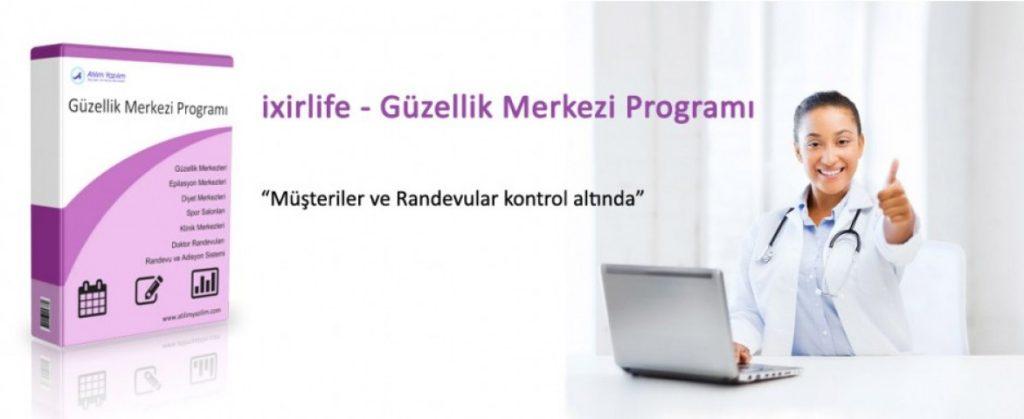 ixirlife - Güzellik Merkezi Programı Güncellemesi
