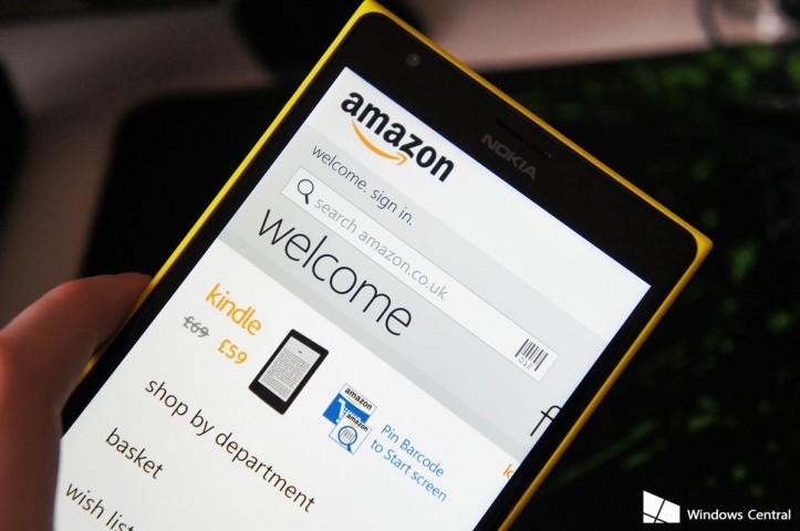 Amazon Windows Phone Uygulamasını Kaldırıyor