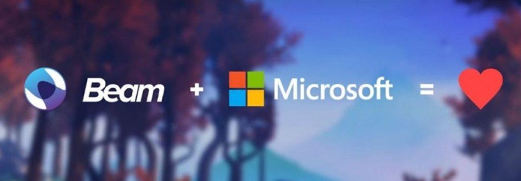 Microsoft, Canlı Platformu Beam'i Satın Aldı