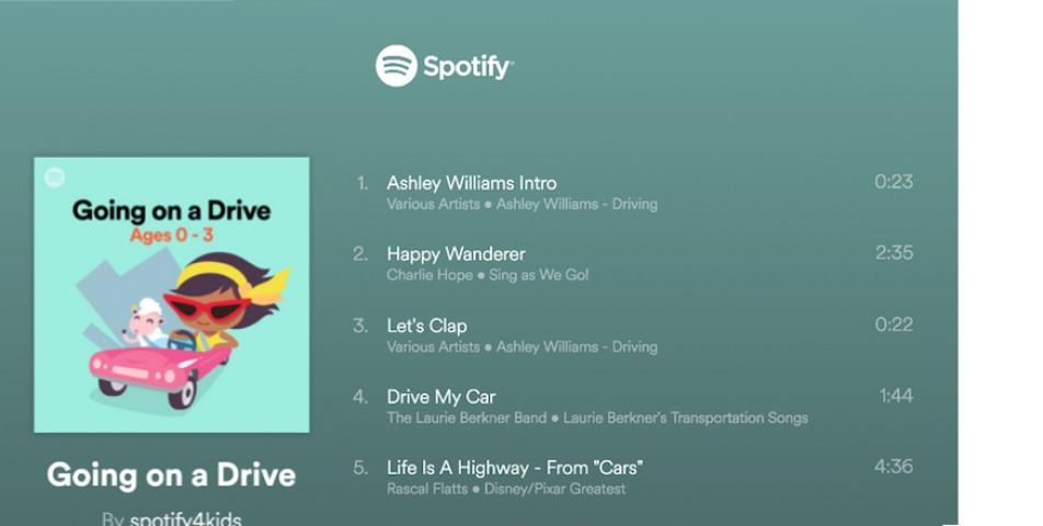 Bebekli Aileler İçin: Spotify Sing