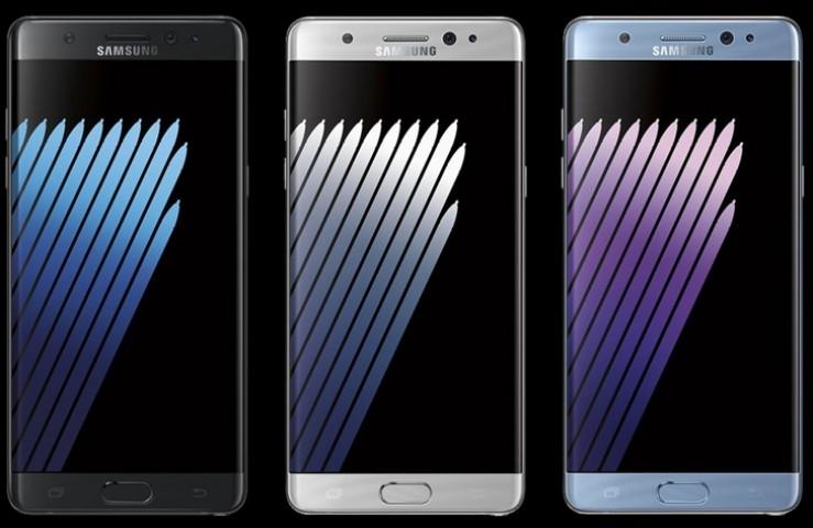 Samsung Galaxy Note 7 Türkiyede Satışta