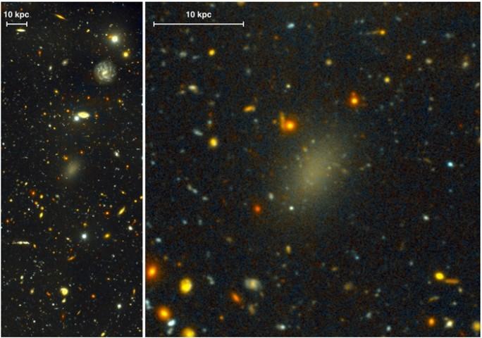 Karanlık Maddeden Oluşan Galaksi Keşfedildi