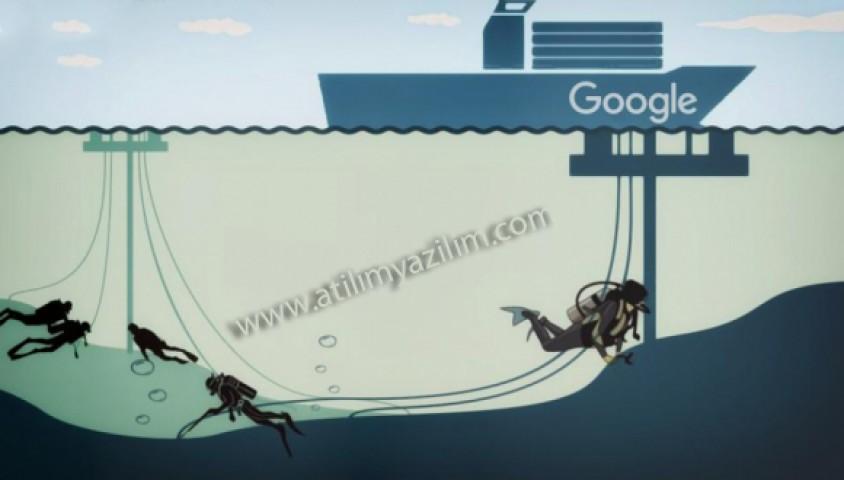 Google Denizaltında 26 TBPS'lik Kablo