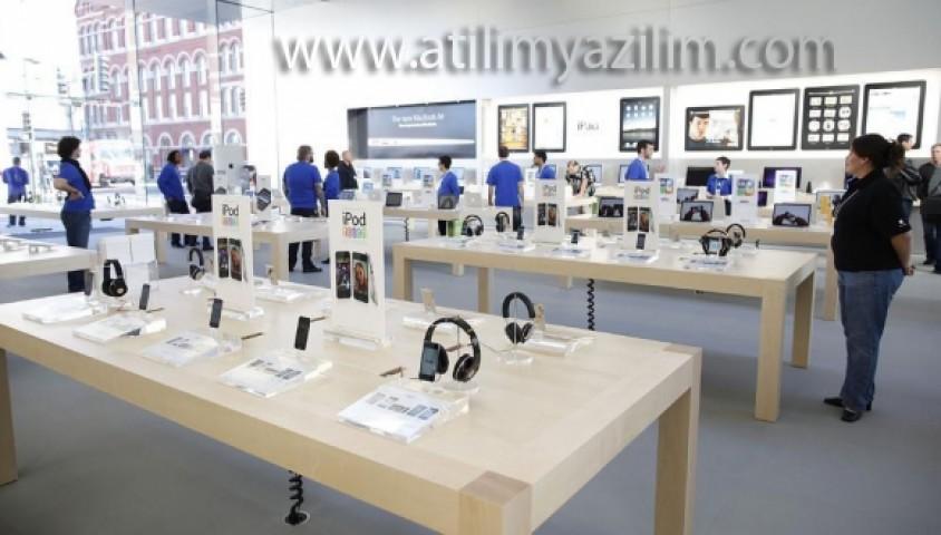 Apple Store'dan Tanıtım Öncesi Bakım