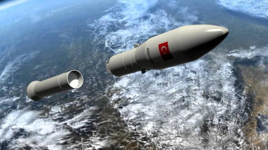 Türkiye Kendi Uydusunu Kendisi Fırlatacak