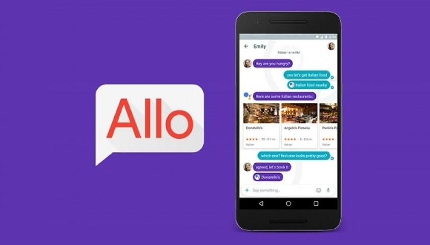 Google'ın Allo Uygulaması Kullanıma Sunuluyor