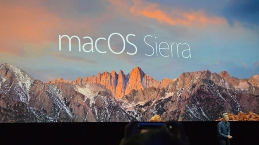 Apple'ın macOS Sierra Güncellemesi Yayınlandı