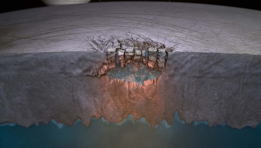 Jüpiterin Uydusunda Su Bulundu