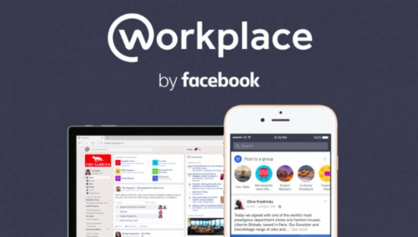 Facebook Workplace Yayınlandı