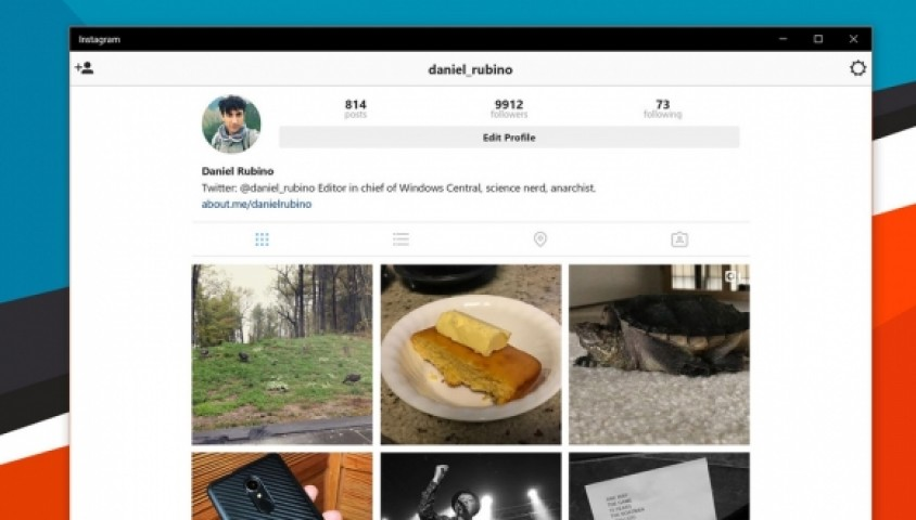 Instagram Windows 10 PC'lere Geldi