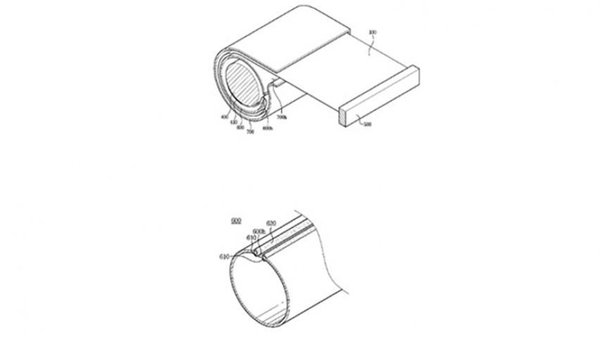 Samsungdan Yeni Katlanabilir TV Patenti