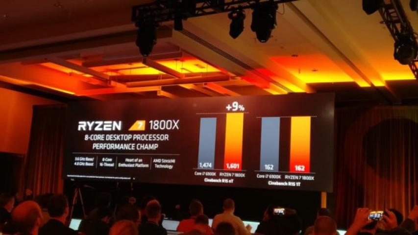 AMD, Ryzen ile Geliyor