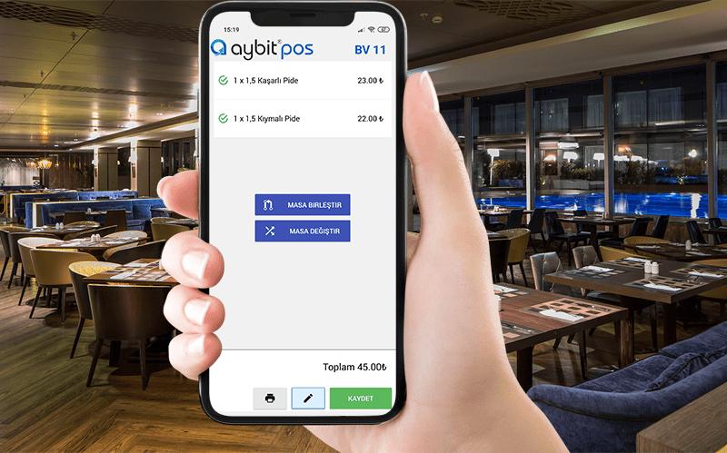 AybitPOS Mobil ile Siparişler Şimdi Çok Daha Kolay