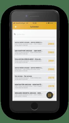 repairist mobil bakım yönetimi ve arıza takibi uygulaması